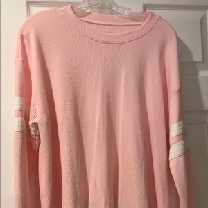 Hollister must have waffle knit long sleeve